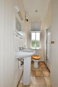 A bathroom at Ardtornish Estate