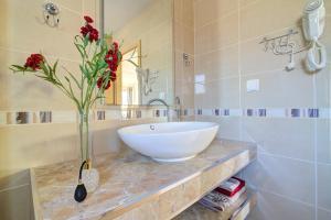 A bathroom at Apartments Prpic