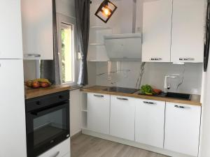 A kitchen or kitchenette at Apartments Villa Učka