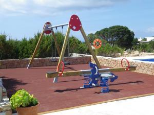 Children's play area at Punta Rasa Formentera Apartments