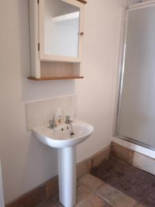 A bathroom at The Haven