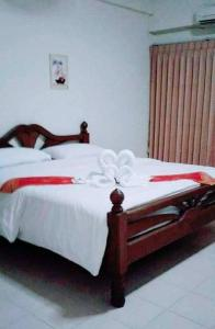 Katil atau katil-katil dalam bilik di Veerasuda Condotel