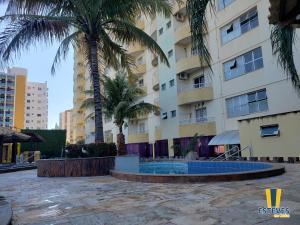 The swimming pool at or near Esteves em Caldas
