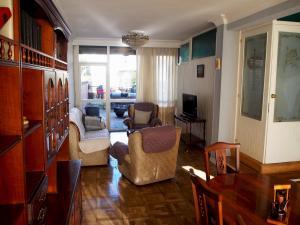 A seating area at Villa Adosada Montesol