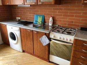 Η κουζίνα ή μικρή κουζίνα στο PragueStars Korunní