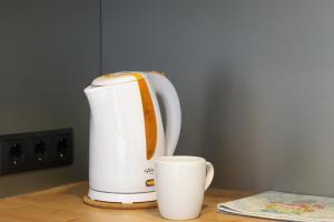 Set per la preparazione di tè e caffè presso Baltic Accommodation 2