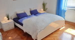 Postelja oz. postelje v sobi nastanitve Beautiful house surrounded by pure nature