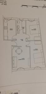 The floor plan of Aresti Old Town by Bilbao Living
