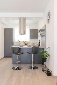 Kuchyň nebo kuchyňský kout v ubytování La vie est belle