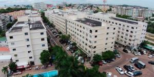 尼兰国际公寓 Nirun condo с высоты птичьего полета