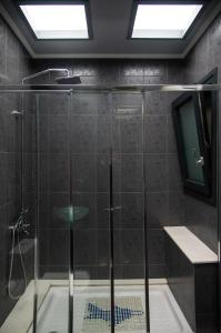 A bathroom at Luxury appartment in Chios centre
