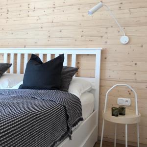 Postel nebo postele na pokoji v ubytování NORDIK 1496