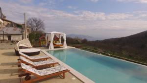 The swimming pool at or near Villa Bambi