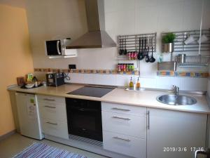 A kitchen or kitchenette at Vianatxiki