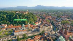 A bird's-eye view of Ljubljana Center Apartments