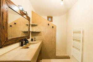 A bathroom at Anemolia Villa