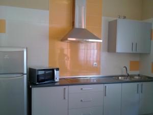 Una cocina o zona de cocina en Apartamentos Turísticos Domus Aquae