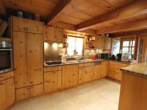 Küche/Küchenzeile in der Unterkunft Apartment Les Herbelands