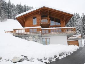 Apartment Nubes, Chalet im Winter