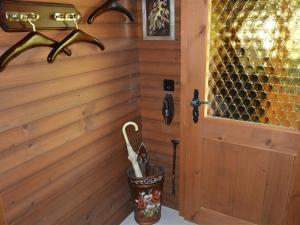 Ein Badezimmer in der Unterkunft Apartment Abnaki, Chalet