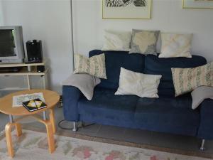 Ein Sitzbereich in der Unterkunft Apartment Spillgerten-Blick