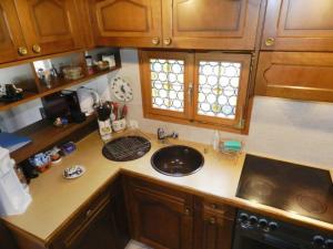 Küche/Küchenzeile in der Unterkunft Apartment Abnaki, Chalet