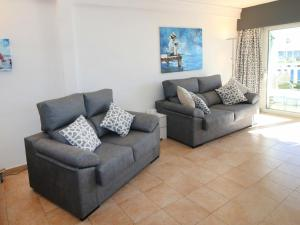 A seating area at Apartment Puerto Playa