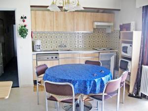 Ett kök eller pentry på Apartment Klif B