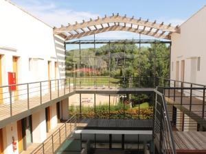 A balcony or terrace at Apartment Adonis Aix en Provence.2