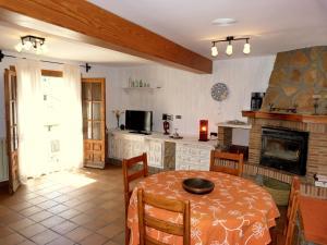 A kitchen or kitchenette at Las mil y una noches