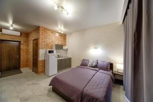"""Кровать или кровати в номере Apartment """"House 213"""""""
