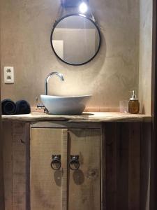 A bathroom at Côté Campagne
