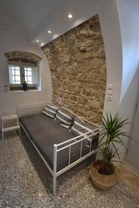 A seating area at Yiasemi Corfu Luxury Studio