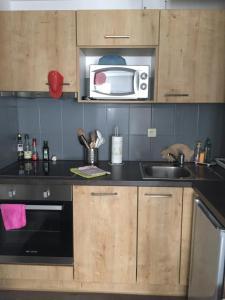 Küche/Küchenzeile in der Unterkunft Au coeur de la Petite Venise