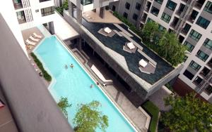 วิวสระว่ายน้ำที่ The Base Condo Pattaya Central หรือบริเวณใกล้เคียง