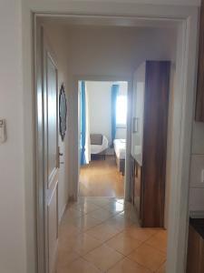 A bathroom at Apartments Braco - Novalja