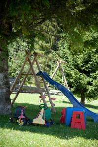Children's play area at Landhaus Manuela & Haus Michael
