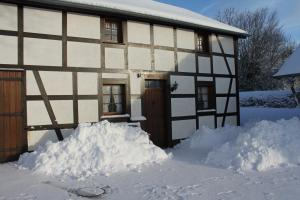Ferienwohnung Haus Stein im Winter
