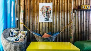 A seating area at Vacation Rental El Nido