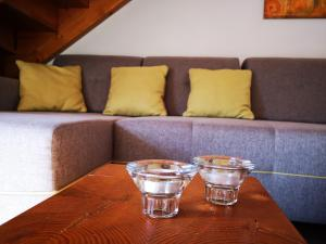 A seating area at Apartment House Blazar