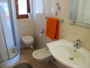 Ein Badezimmer in der Unterkunft Rosenheim