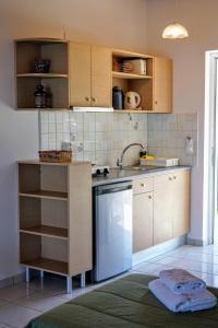 A kitchen or kitchenette at Villa Levante