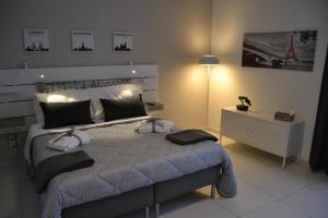 Letto o letti in una camera di Il profumo dei Sassi Holiday Home