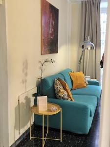 Area soggiorno di Gregoriana Apartment