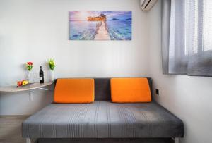 A bed or beds in a room at Apartment Alexa, City Ashdod