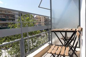 Μπαλκόνι ή βεράντα στο Kalamata Art Hotel