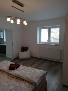 Posteľ alebo postele v izbe v ubytovaní Apartman Emka pod Rozsutcom