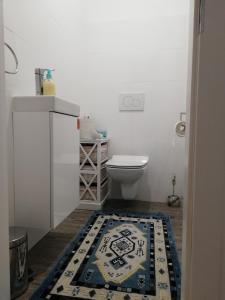 Kúpeľňa v ubytovaní Apartman Emka pod Rozsutcom