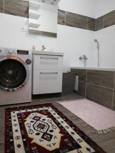 Kuchyňa alebo kuchynka v ubytovaní Apartman Emka pod Rozsutcom