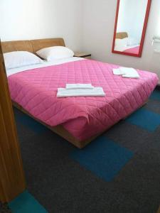 Krevet ili kreveti u jedinici u objektu Apartmani Avdic